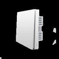 Умный выключатель Xiaomi Aqara Smart Light Control ZigBee (Одинарный, встраиваемый) White (QBKG04LM)